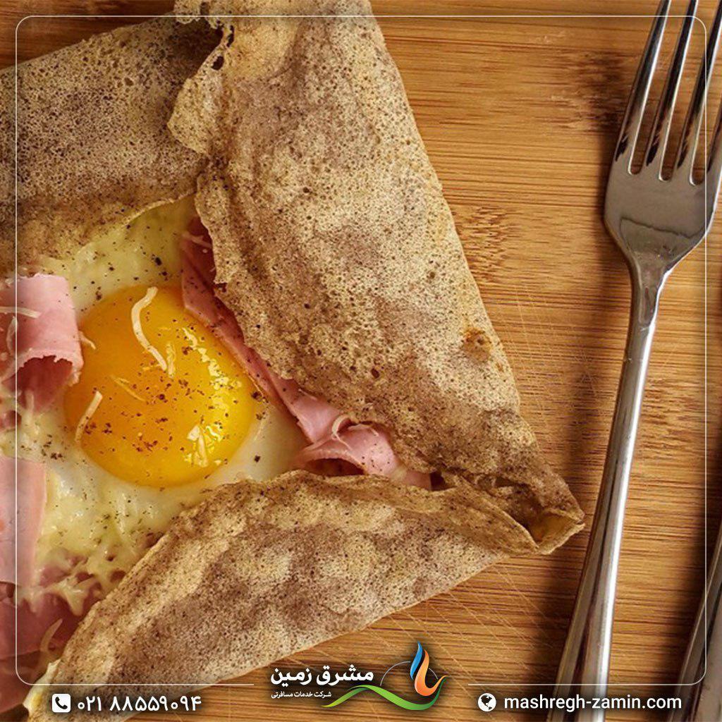 نان فرانسوی گالتس دی ساراسین