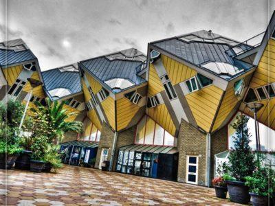 هلند – روتردام، خانههای مکعبی