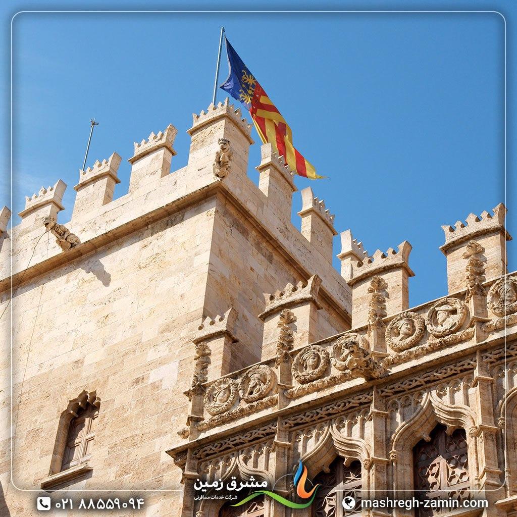 اسپانیا – والنسیا، کاخ لا لونخا