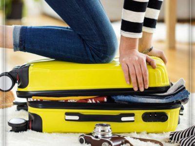 برای سفر از چمدانهای کوچکتر استفاده کنید
