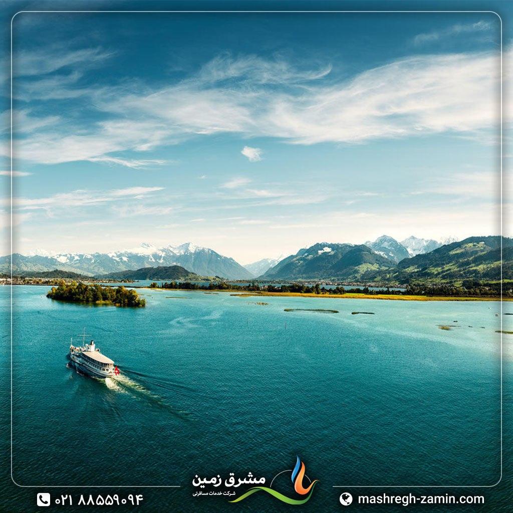 سوئیس، دریاچه زوریخ