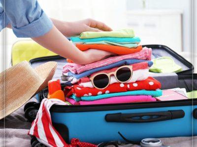 برای سفر لباسهای هر روز را جداگانه بستهبندی کنید