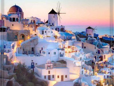 یونان، جزیره سانتورینی