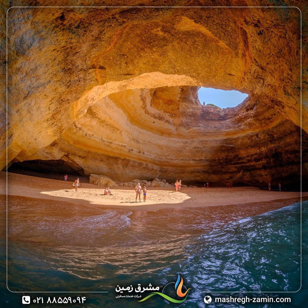پرتغال، غار زیبای بنگیل