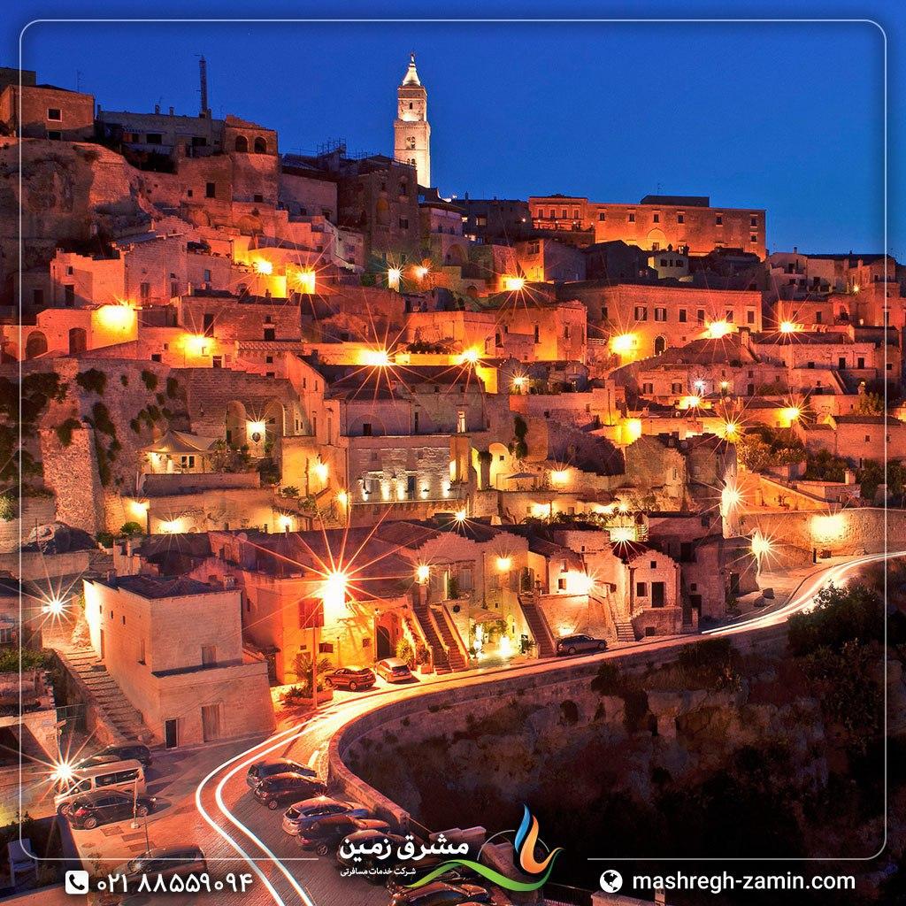 ایتالیا، شهر ماترا در منطقهی باسیلیکاتا