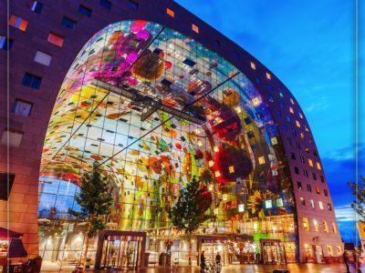 بازار بزرگ سرپوشیده روتردام، هلند
