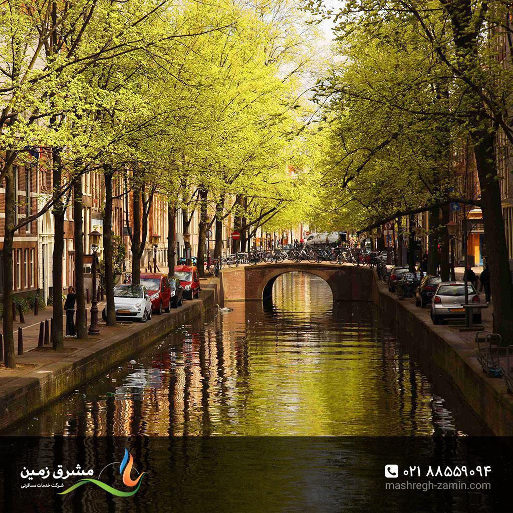 هلند، گشت و گذار در کانالهای آمستردام