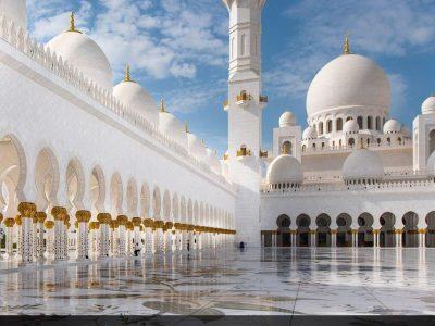 امارات، دبی – مسجد شیخ زاید