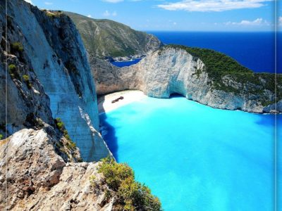 یونان – جزیره زاکینتوس، ساحل ناواگیو